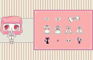 Pixelallegra Dress-Up game