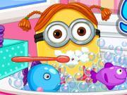 Minion Girl Spa Day game