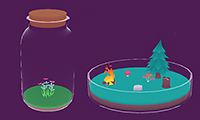 Tiny World In Flask game