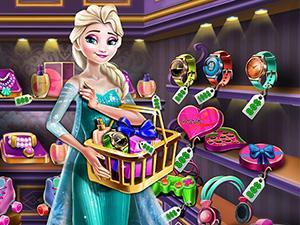 play Elsa Gift Shopping