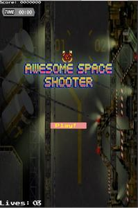 Awesome Space Shooter game