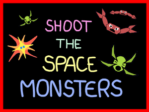 Shoot The Space Monsters game