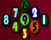 Colorful Billiard game