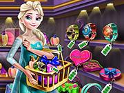 play Ice Queen Gift Shopping