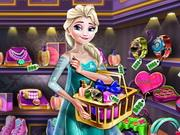 Ice Queen Gift Shopping game
