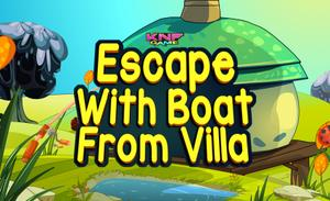 play Escape With Boat From Villa