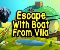 Escape With Boat From Villa game