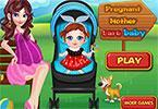 play Pregnant Mother Care Baby