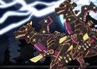 Ninja Tyranno Dino Robot