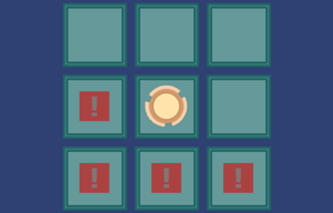 Rhythm Reaction Grid game