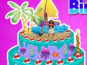 play Moana Birthday Cake Decor