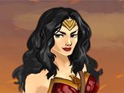 play Amazon Warrior Wonder Woman Dress Up