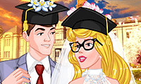 play Princess College Campus Wedding
