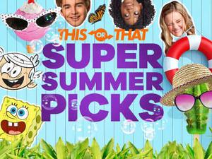 Nickelodeon: Super Summer Picks Quiz game
