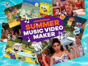 Nickelodeon: Summer Music Video Maker Music game