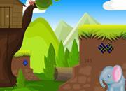 Tricksy Elephant Adventure game
