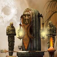 365Escape-Scary-Temple-Escape game