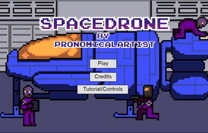 Spacedrone game