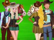 play Princesses Cowboy Adventure