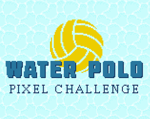 Water Polo Pixel Challenge game