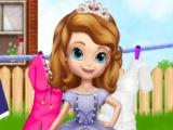 Little Princess Laundry Day game