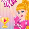 Super Barbie Cheerleading game