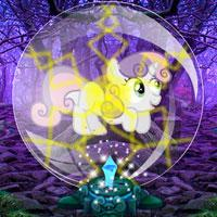 Escape Pony From Bubble Forest game