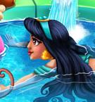 Arabian Princess Fun Swimming game