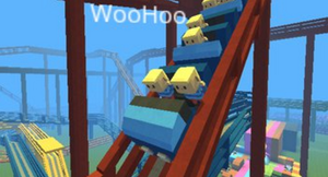 Kogama: Roller-Coaster World game