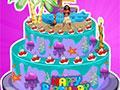 Moana Birthday Cake Decor game