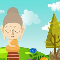 G4K-Cute-Buddha-Statue-Escape- game