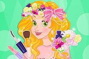 play Rapunzel'S Flower Crown Girl