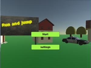 Run And Jump game
