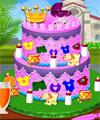play Princess Baby Shower Cake
