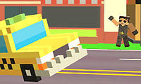 play Pixel Road Taxi Depot