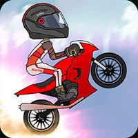 Up Hill Motocross Race game