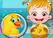 Baby Hazel Duck Life game