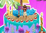 play Moana Birthday Cake Decor