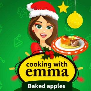 play Cooking With Emma: Baked Apples
