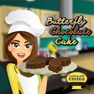 play Butterfly Chocolate Cake