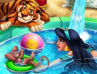 play Arabian Princess Swimming Pool