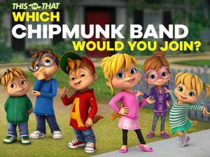 Alvinnn!! And The Chipmunks: Which Chipmunk Band Would You Join? Quiz game