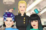play Kendall Jenner & Friends Hair Salon Girl