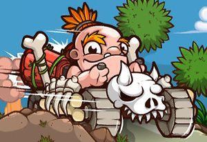 play Stone Age Racing