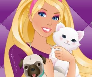 play Barbie'S Pet Salon