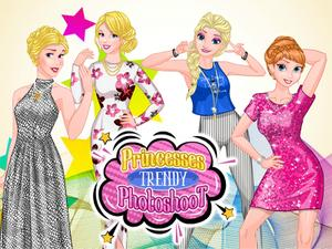 play Princesses Trendy Photoshoot