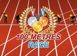 play 100 Meters Race