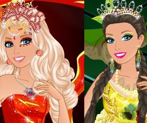 play Barbie Princess Of Elements
