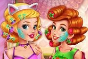 play Boho Princesses Real Makeover Girl