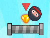 play Ninja Diamond Adventure Hd